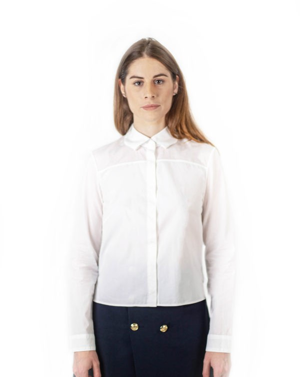 Renee white shirt-Chemise Renee Blanche-1-chemise-blanche-femlme-tissu-combine-affaires-etrangeres-made-in-france