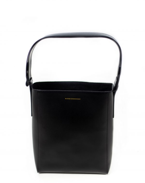 Sac How noir-How bag-cabas-cuir-noir-affaires-etrangeres-paris-ethnique-chic-mode-coreenne-besides-kimchi ;
