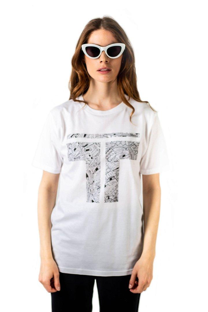 t-shirt en coton bio tremblepierre