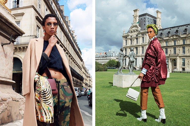 affaires-etrangeres-manteau-long-coat-laine-wool-clivia-nobili-pull-matelasse-pantalon-camouflage