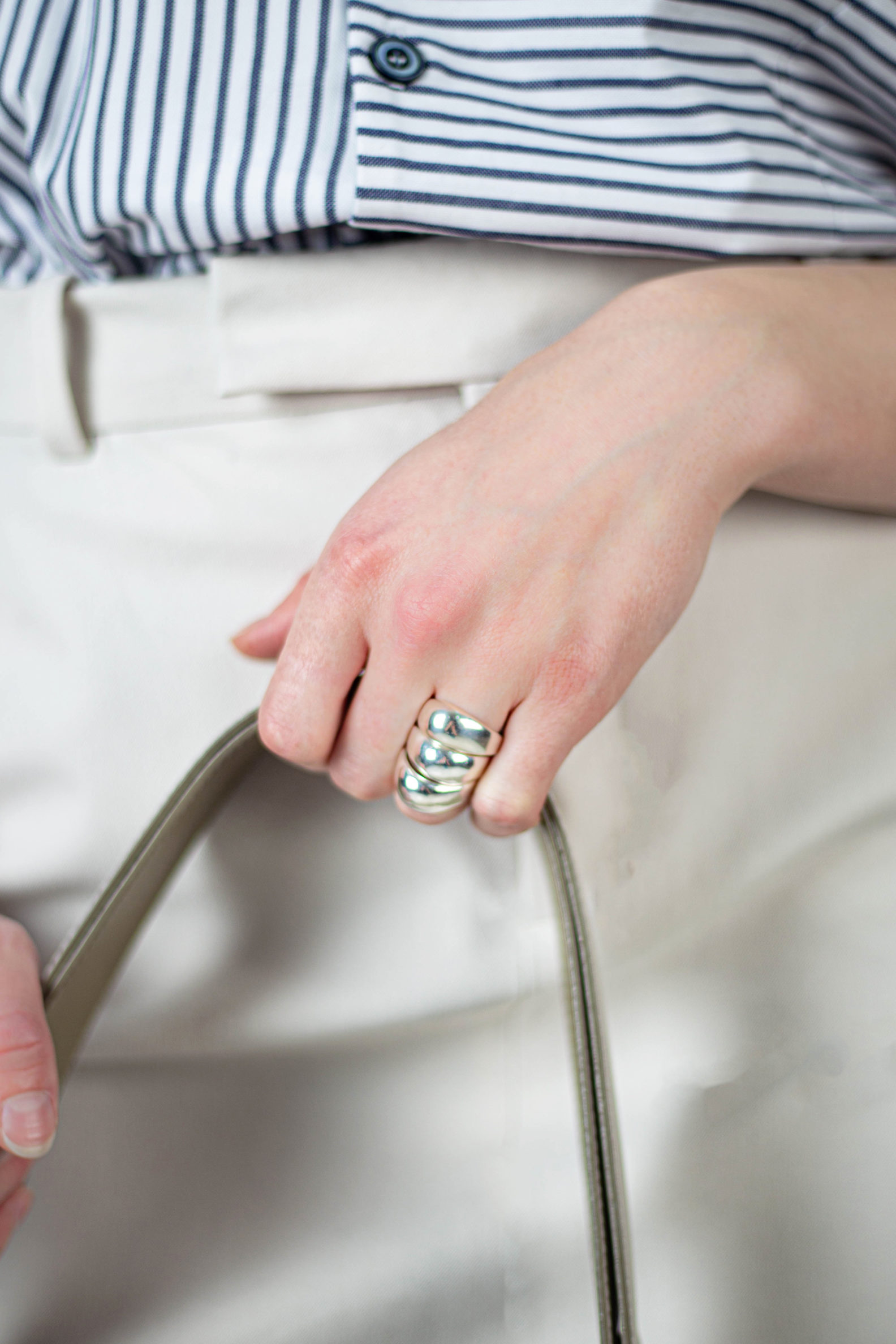 Bague Boulle trio argent-Silver trio Boulle ring-bague-argent-boulle-affaires-etrangeres-creation-de-bijoux-davila