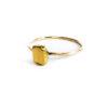Bague Schiste – Doré à l'or fin 24 carats | Bresma | Label AÉ Paris - Image 1
