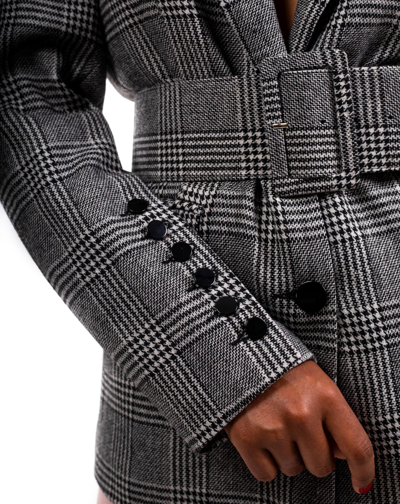 blazer-long-pied-de-poule-ceinture-charms-affaires-etrangeres-dog-tooth