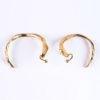 boucles d'oreilles créoles doré