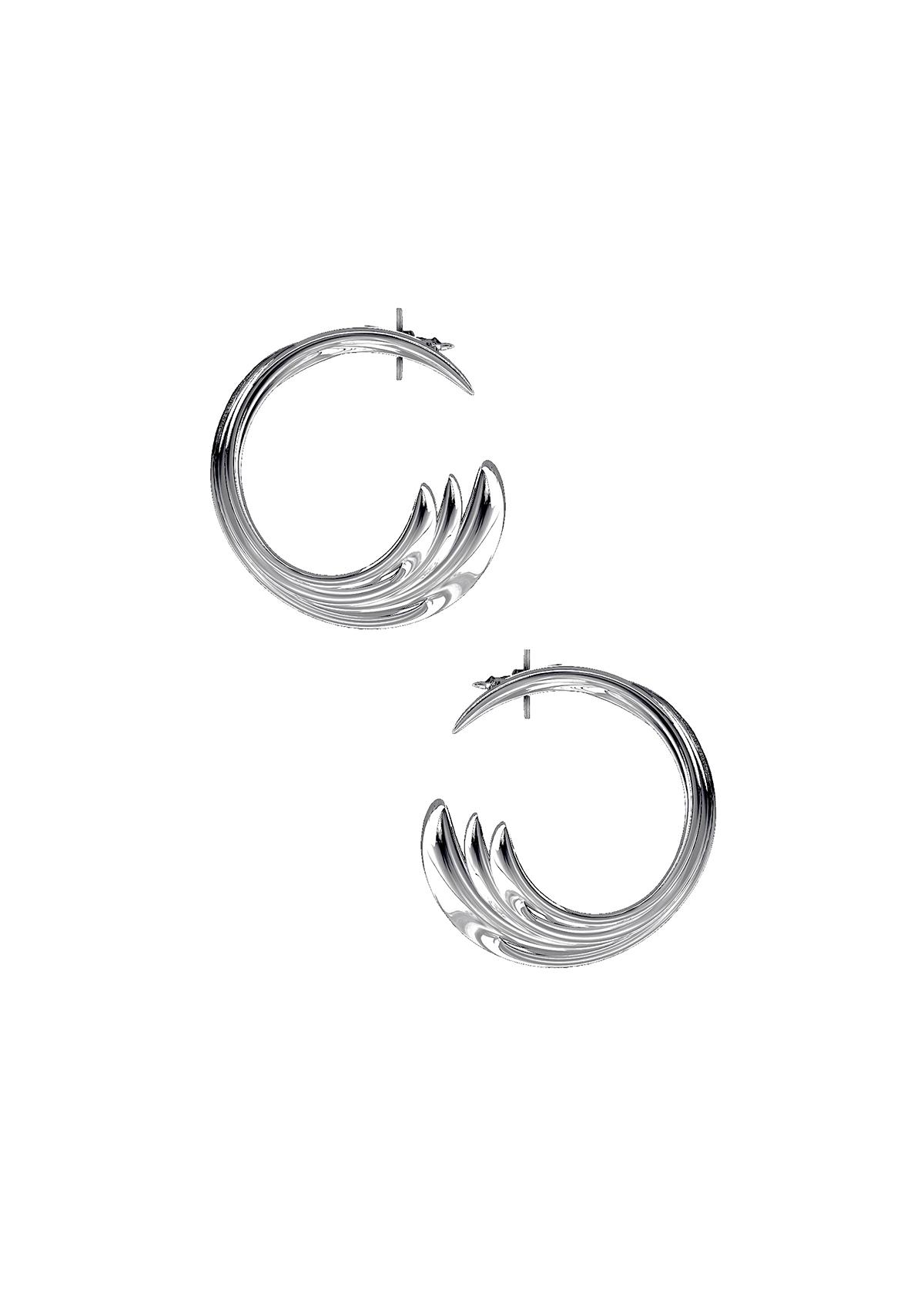 Boucles d'oreilles – En argent – Imminent Fantasma | Label AÉ Paris