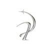 Boucle d'oreille parallel – En argent – Imminent Fantasma | Label AÉ Paris