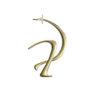 Boucle d'oreille parallel – En vermeil – Imminent Fantasma | Label AÉ Paris