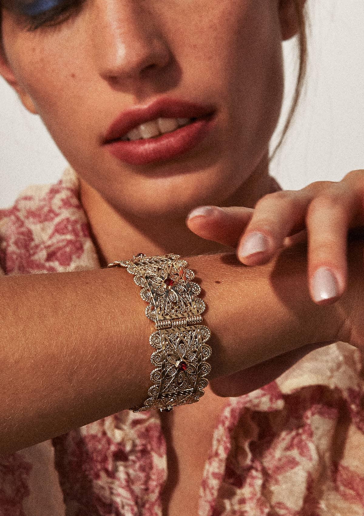Bracelet fantaisie ethnique du maghreb