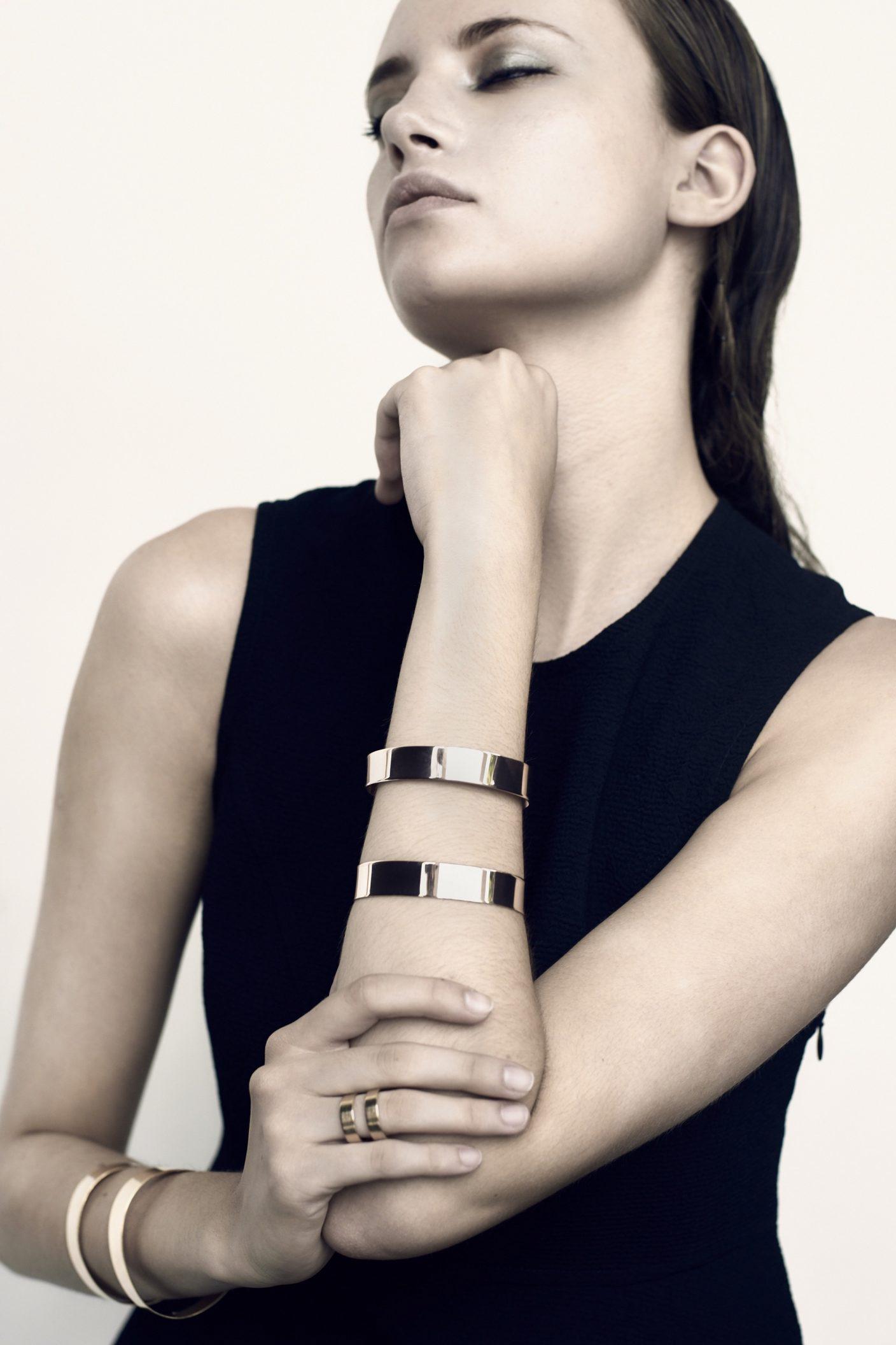 Manchette bracelet Dualité de la maison Dàvila.