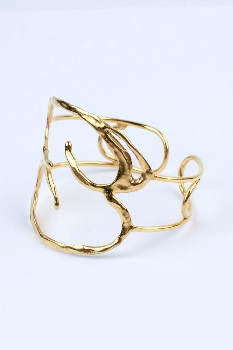 Bracelet manchette galatée créateur bresma