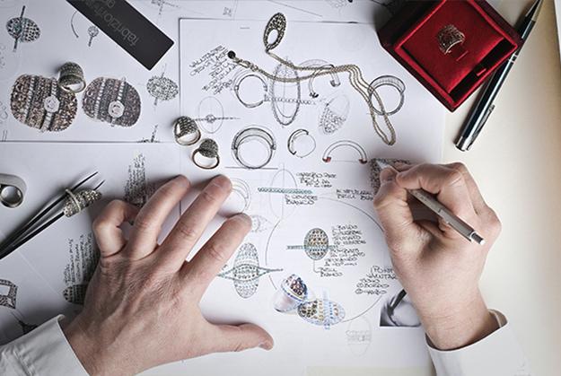 Croquis et dessin de bijoux I Artisans bijoutiers I Label AE Paris