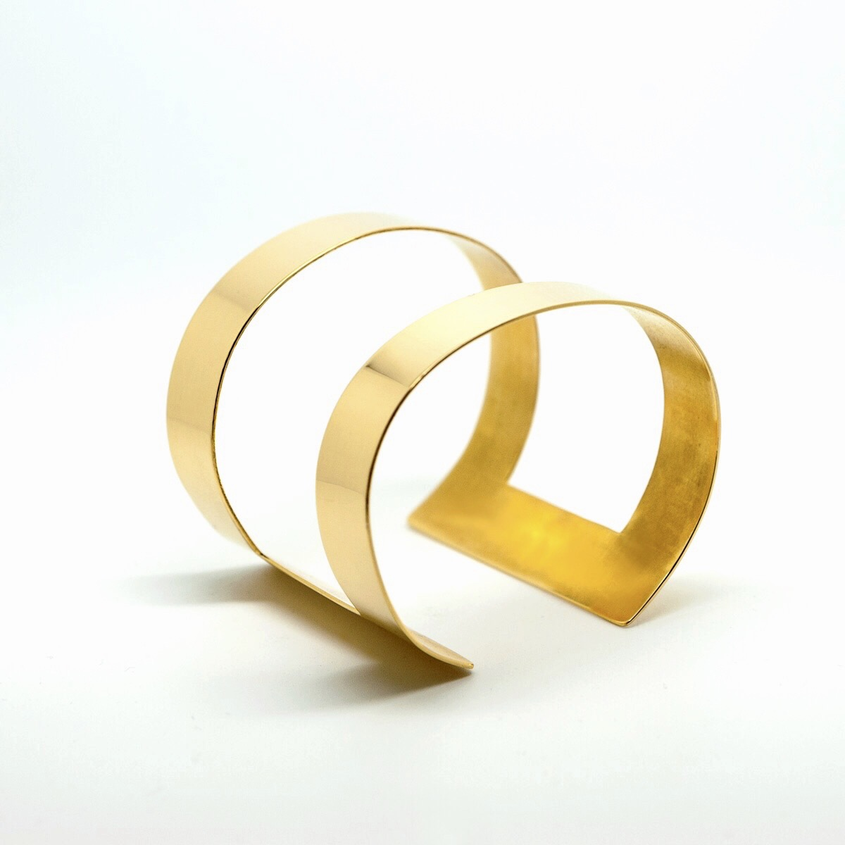 Manchette Dualité-Duality cuff-manchette-plaque-or-affaires-etrangeres-bijou-ethnique-davila