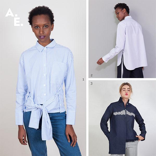 look slow fashion kpop mode coréenne chemise asymetrique anissa aida