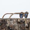 Lunette de soleil en bois de noyer - Wood Light - MXP - 2