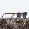 Lunette de soleil en bois de noyer - Wood Light - CFE-2
