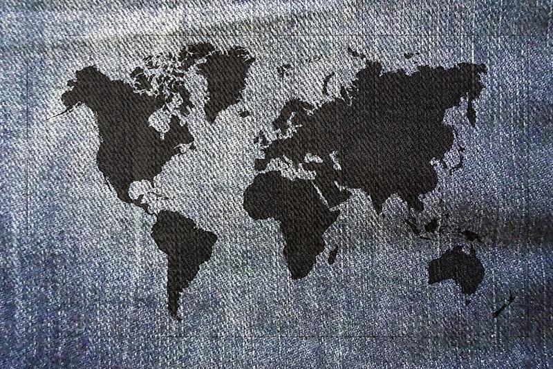 Vêtement ethnique 4 coins du monde